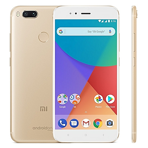Mi Mi a1 4gb 32gb Global Official Version Dual Back Cameras 5.5 Inch Android 7.1 Qualcomm Snapdragon 625 Octa Core Up To 2.0ghz 4g Smartphone Gold
