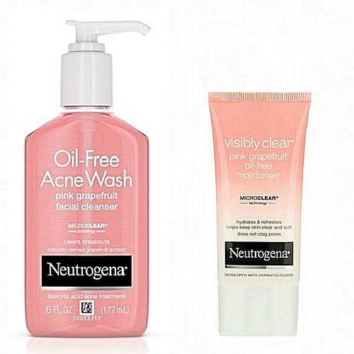 Neutrogena Oil Free Acne Wash Pink Grapefruit Oil Free Moisturizer