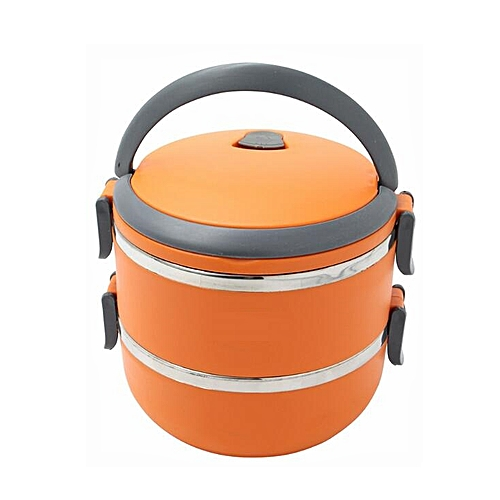 Lunch Box For Adult And Kids-Orange