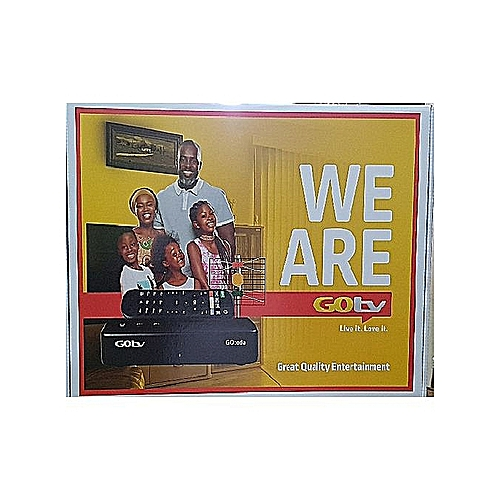 Decoder + Antenna + 1 Months GOTV MAX Subscription