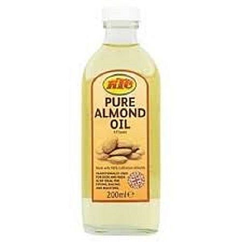 Pure Almond Oil B.P Sweet 200ml Made With 100% Californian Almonds