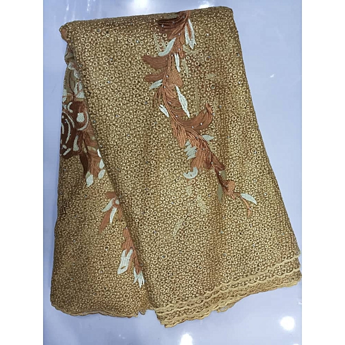 Fashion Lace -Gold- 5 Yards