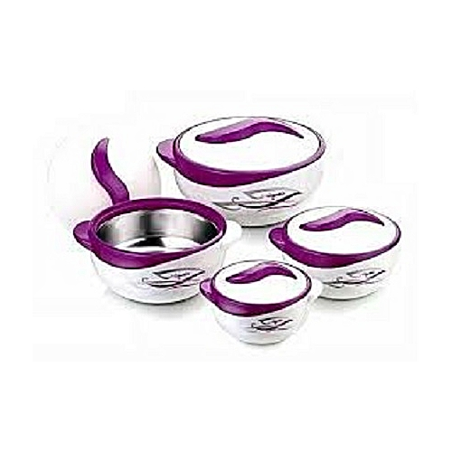 4 Piece Set Insulated Casserole / Thermo Container