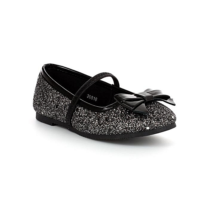 5894d7a517f1 lilley sparkle Girls Sparkle Glitter Party Shoe - Black | Jumia NG