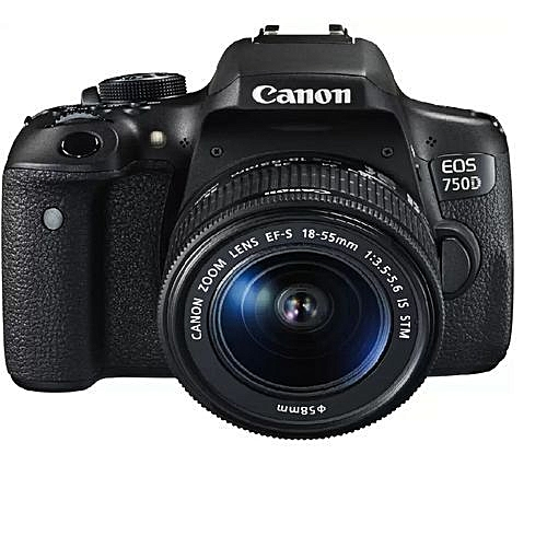 Canon EOS 750D Professional Camera 18-55mm Zoom Lens