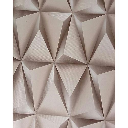 Generic 3d Effect Wallpaper- Brown Colour