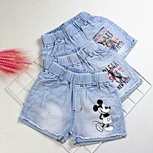 7e5ab06fa Denim Jeans Blue 5-8years Cotton Five Pants / Pants