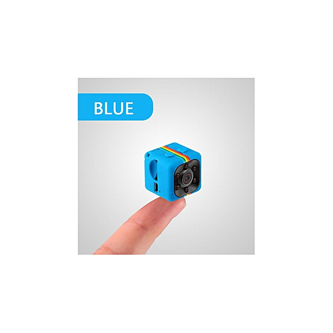 IMars Mini Camera SQ11 HD Camcorder Night Vision 1080P Sports Mini DV Video  Recorder Blue