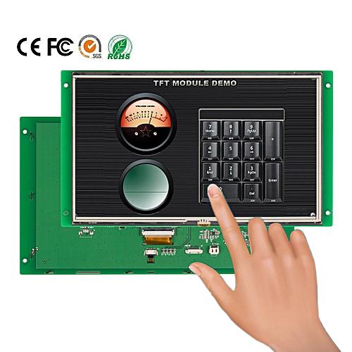 "10.1"" HMI Serial Interface High Resolution TFT LCD"