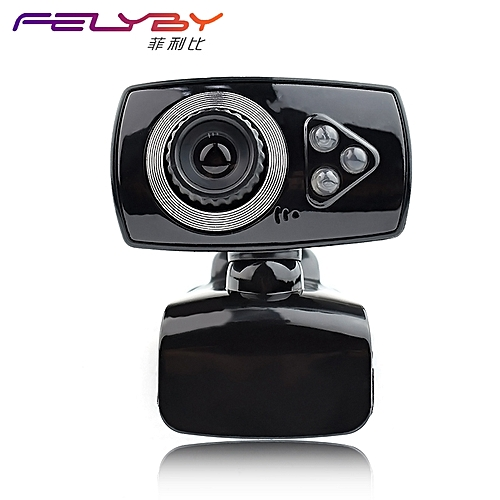 High Quality New USB Camera For Skype Computer Microphone With 12 Million Pixel HD Webcam 360 Degree Clip