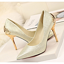 7753fdc22d3 Sexy Shallow Mouth Super High Heel Suede Wedding Shoes Temperament  Women  039 s Shoes