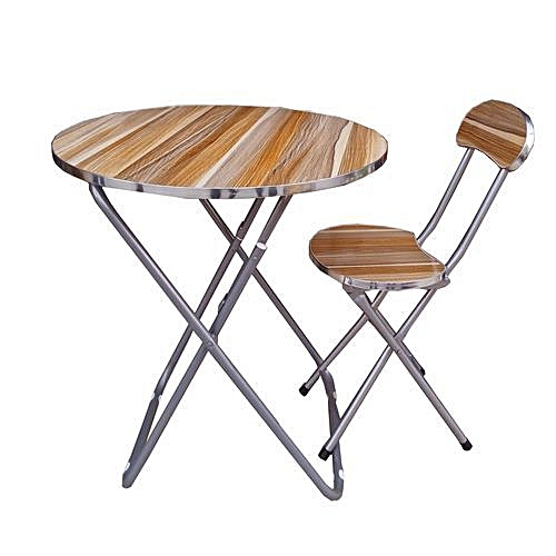 Adjustable Reading/ Laptop Table And Chair(Wood & Metal)