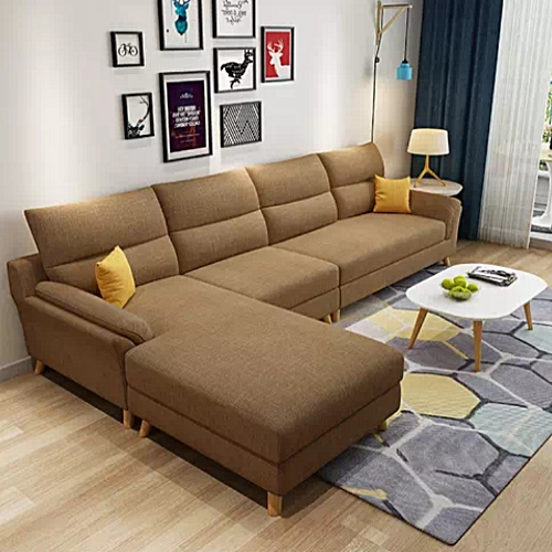 Malay L Shaped Sofa (Delivery Within Lagos Only)