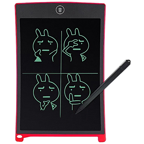 8.5 Inch LCD Ultra Thin Tablets E-writing Board - Red