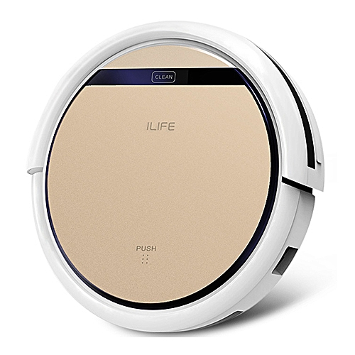 ILIFE V5S Pro Intelligent Robotic Vacuum Cleaner Cordless Dry Wet Sweeping Cleaning Machine - Champagne Gold