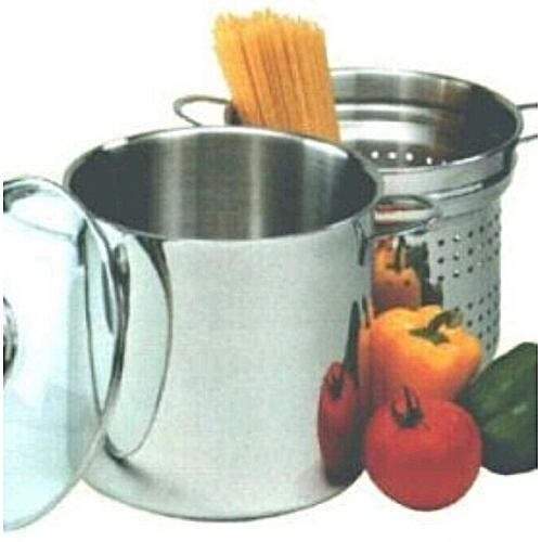 Rubin Spaghettitopf Stainless Steel Steamer, Stock, Pasta Cooker 6L