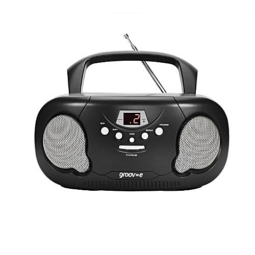 Boombox Portable CD Player With Radio