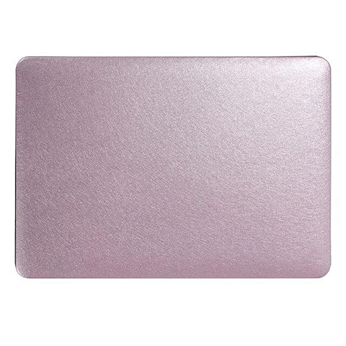 XSKEMP Shockproof Hard Cover For Macbook Air 13 PU Leather Silk Print Laptop Shell + Keyboard Cover Purple
