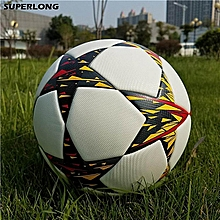 2018 Champions League Official Size 5 Football Ball Seamless Anti-slip PU Soccer Ball Outdoor Equipment Training Football for sale  Nigeria