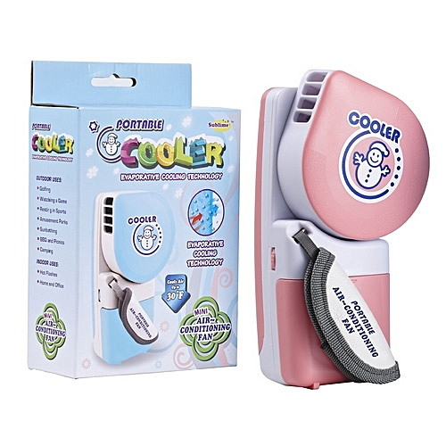Portable Handheld USB Battery Operated Mini Air Conditioner Cooling Fan