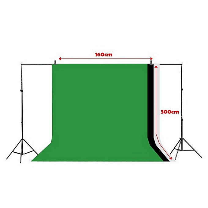 1 6X3m Photography Backdrop Studio Green Screen Chroma Key Background Photo  Lighting Non Woven
