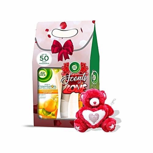 Freshmatic Complete Automatic Spray Kit (Sparkling Citrus) + FREE Teddy Bear Keyring