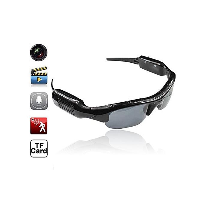 Mini HD Hidden Camera Glasses - Black