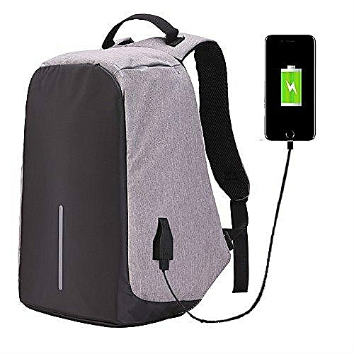 JDM Laptop Backpack,Business Laptop Bag With USB Charge Port Anti-Theft Water Resistant Casual School Bookbag For College Travel Backpack For Macbook Pro 15/ 15.6-Inch Laptop Ultrabook