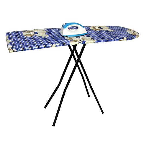 Ironing Table With Free Pressing Iron