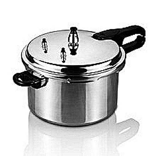 Pressure Cooker 5.5Litres - Silver
