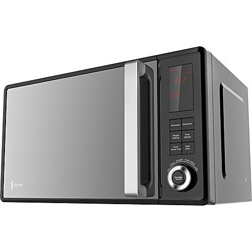 23L Microwave Oven 1000W, DIGITAL+GRILL, GLASS DOOR -SY-MW1023-02D