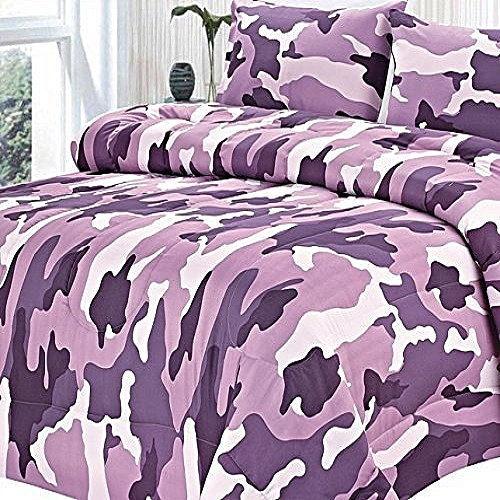 Goose Down Alternative Double Fill All Season Comforter, King, Camouflage