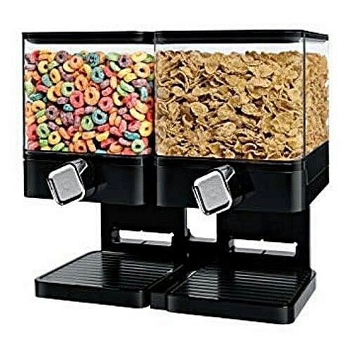 Double Cereal Dispenser - Square Type