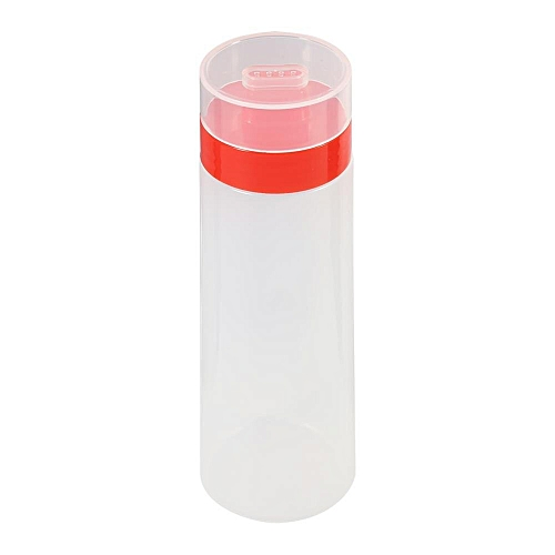 4-Hole Squeeze Type Sauce Bottle Ketchup Jam Olive Dispenser Red