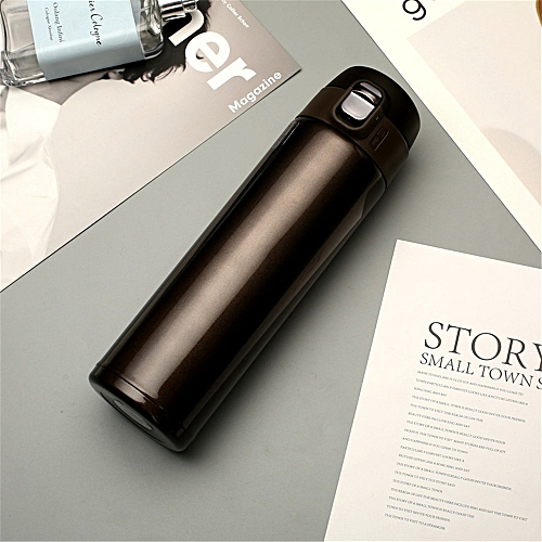 Fashion Travel Mug Office Coffee Tea Water Bottle Cups Stainless Steel Cup