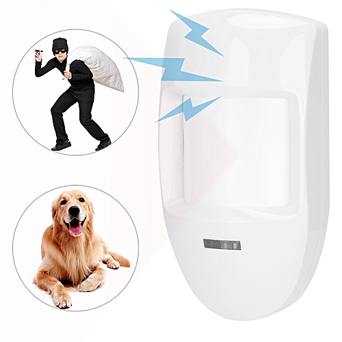 12V Wired Dual PIR Motion Sensor Automatic Infrared Detector Warning Alarm  Strong Sensitivity For Home Security System