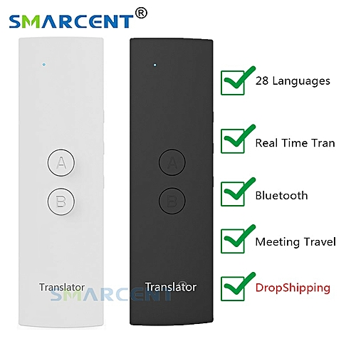 T6 Easy Smart Language Translator Instant Voice Speech BT 28 Languages+APP Hot Translator Real Time Translation For Meeting WAAAA