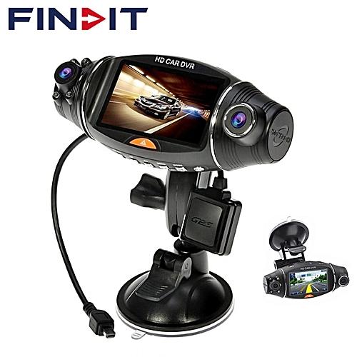 DVR/Dash Camera - Vetomile R310 Car Dual Dash Cam Car DVR 2.7inch Rotatable Wide-Angle Lens GPS Function With G-Sensor