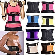 f0e96a3dcf Waist Trainer Power Belt Fitness Body Shaper Adjustable Waist Support  Breathable