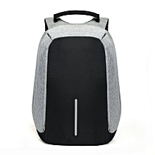 e08297b86e Anti-Theft Backpack USB Port Laptop Charging Travel Bag