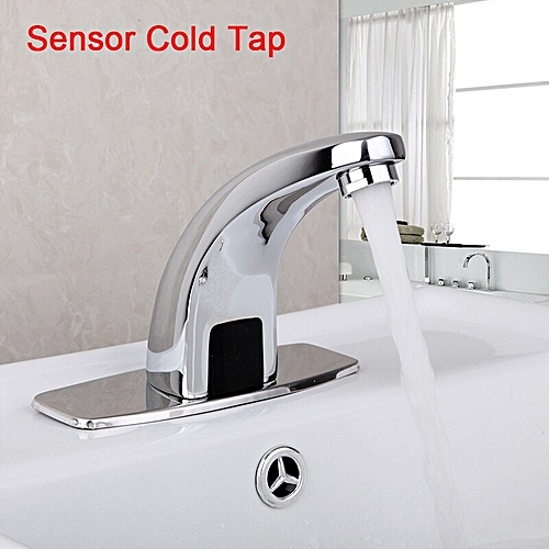 Automatic Hand Touch Sensor Faucet Brass Chrome Polished Bathroom Basin Faucet Torneira Sink Faucet Mixer Tap Water Mixer HLI
