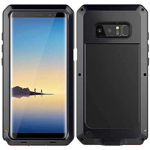 official photos d07ae 44763 Samsung Galaxy Note 8 Case, Heavy Duty Hybrid Armor Aluminum Metal Dual  Layer Bumper Case Soft Rubber Military Shockproof Hard Cover For Samsung ...
