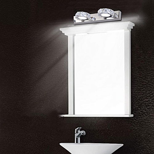 Modern LED Acrylic Wall Mount Lamp Bathroom Toilet Make-up Mirror Front Light 6W