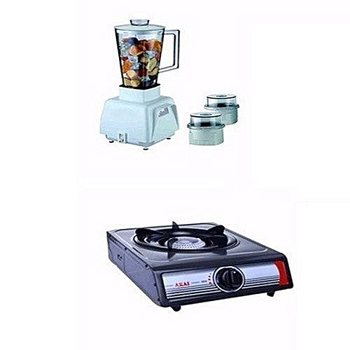 Blender + Akai Table Top Single  Electric Cooker