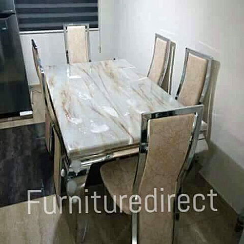 Bronian Marble Dining Set Furniture Gift Item Available