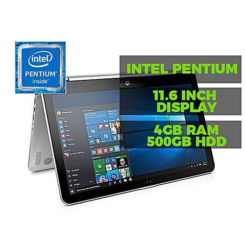 Pavilion 11 X360 Intel Pentium Quad Core( 4GB RAM 500GB HDD +32gb Flash Drive)Windows 10