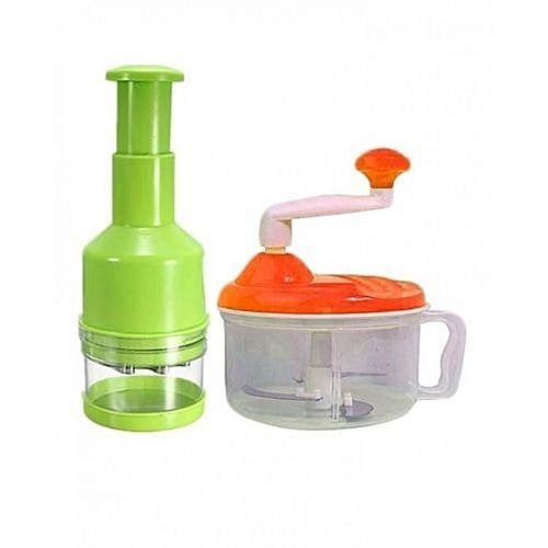 Manual Food Blender With Vegetable & Onion Chopper
