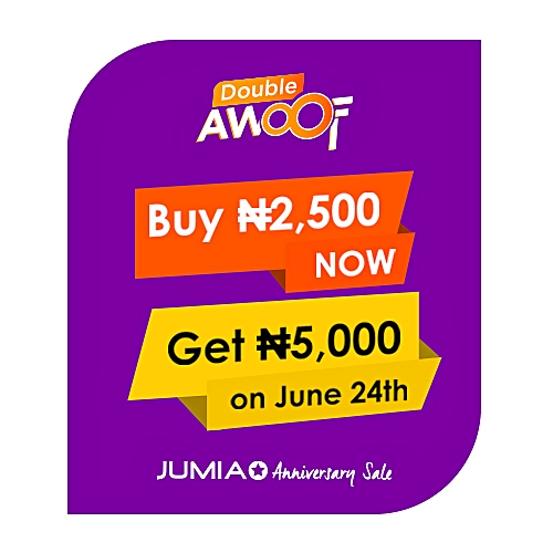 Double Awoof 2,500 for 5,000 JumiaPay Credit