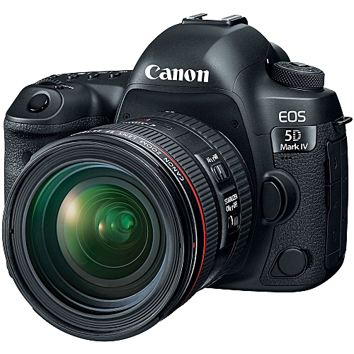 EOS 5D Mark IV (MK IV) Kit With EF 24-70mm F4L Lens Digital SLR Camera