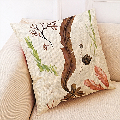 Fashion Home Decor Cushion Cover Submarine Plant Style Throw Pillowcase Pillow Covers